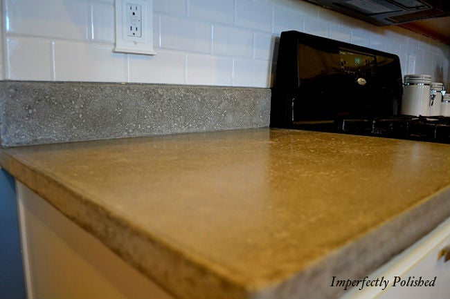 formica granite ideas kitchen cover countertop countertops kashmir bathroom laminate diy covering faux contractors cement up white worktop with concrete counter