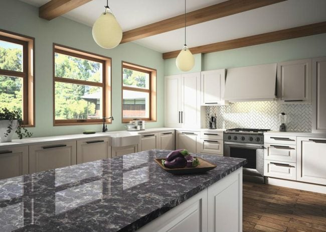 Engineered Stone Countertops: Silestone's Ocean Storm