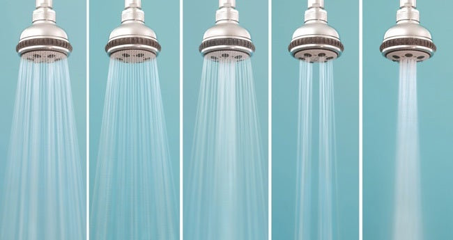 How to Choose a Shower Head - Low Flow