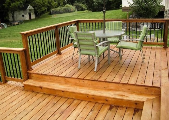 Wood for a Deck - Cedar