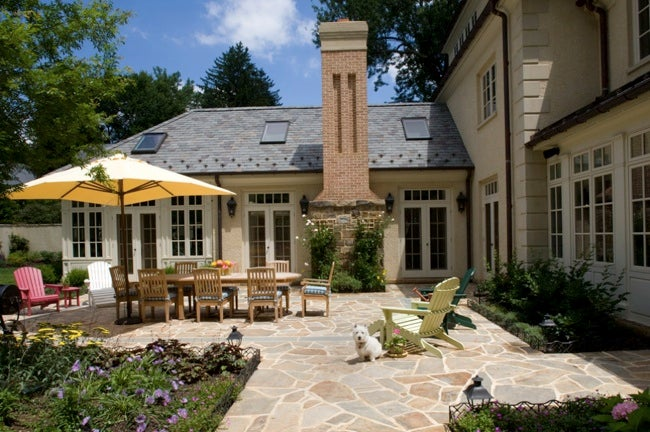 Elegant Patio Building
