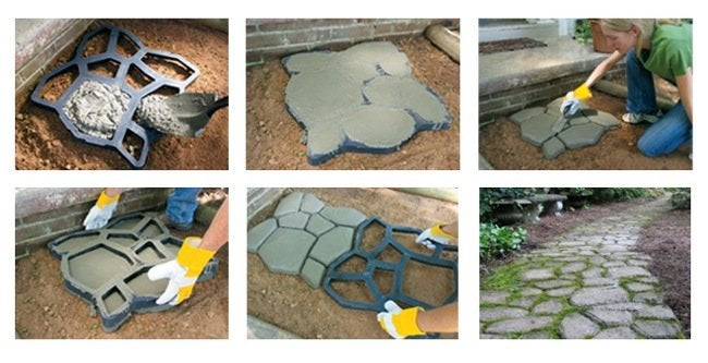 How to Make a Concrete Walkway