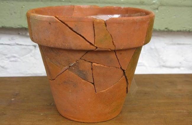 Repurpose Broken Pots - Fix It