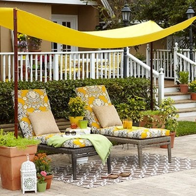Cheap Remodeling - DIY Patio Canopy