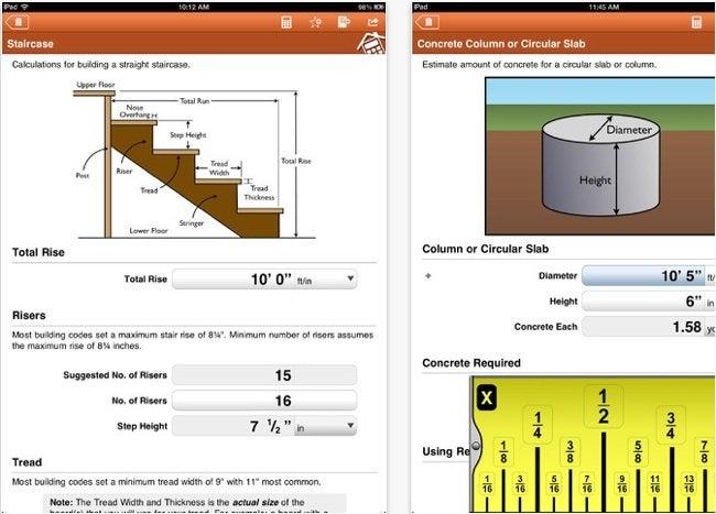 DIY Apps - Home Improvement Calcs