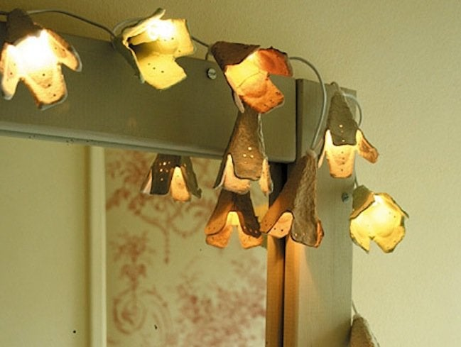 Reuse Egg Cartons - Lighting