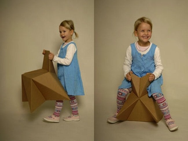 DIY Kids Furniture - Cardboard