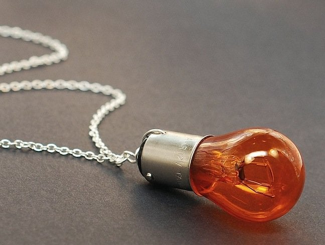 Light Bulb DIY Projects - Jewelry