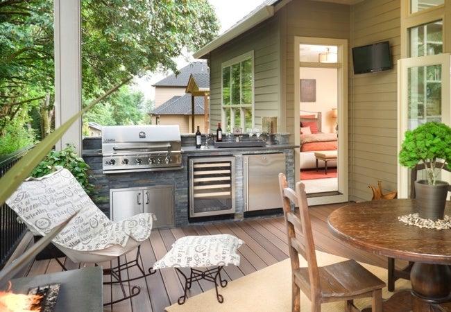 Deck Ideas - Outdoor Kitchen