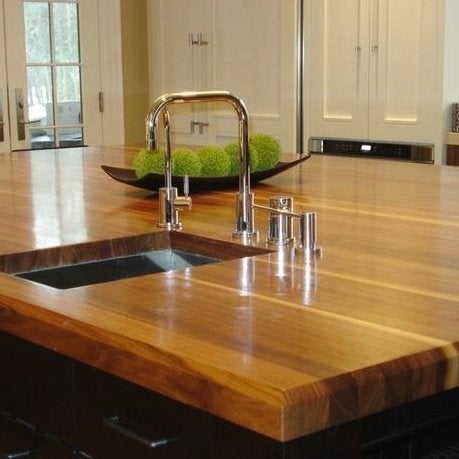 Kitchen Countertop Materials - Butcher Block