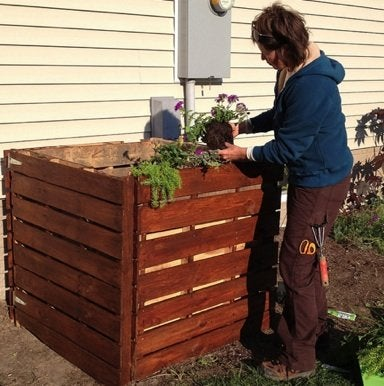 How to Build a Compost Bin - Carpenter Pants