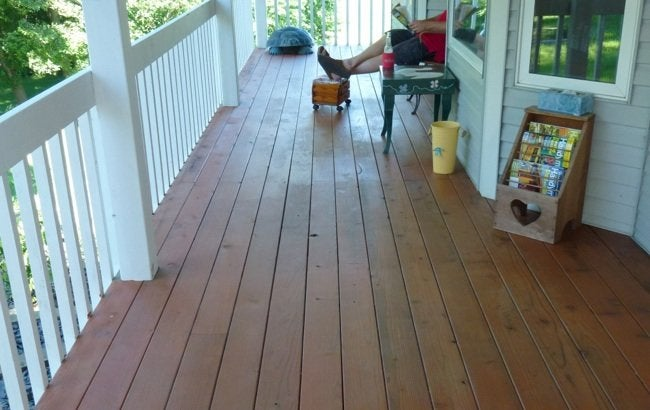 How to Refinish a Deck - Complete