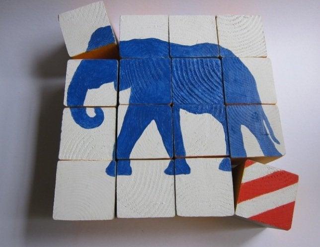 DIY Wood Games - Block Puzzle