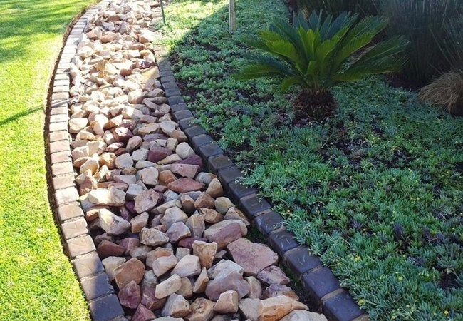 Decorative Yard Drainage : French drains bob vila
