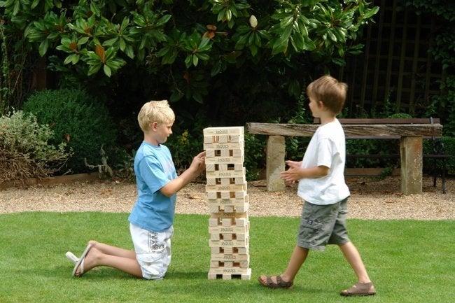 DIY Wood Games - Giant Jenga