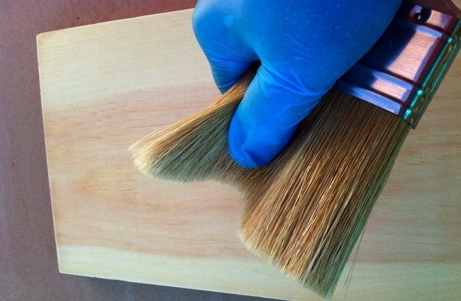 How to Varnish Wood - Natural Bristles