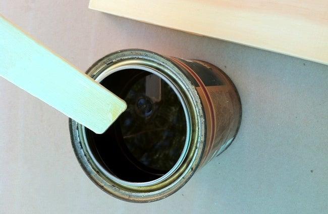 How to Varnish Wood - Stirring