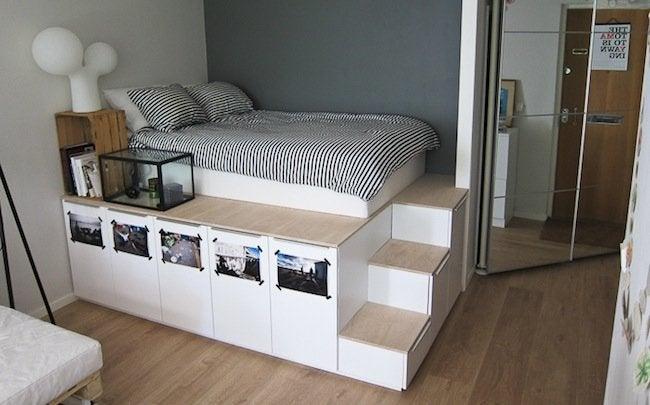 Small Bedroom Ideas - Platform Bed