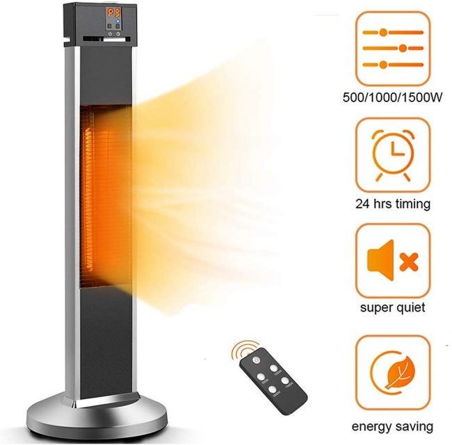 The Bets Patio Heater (Electric): Trustech