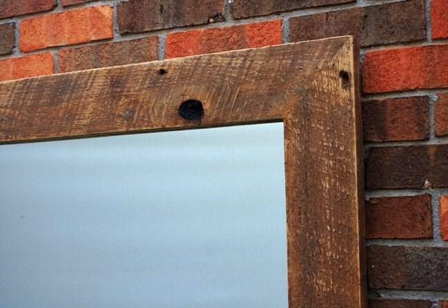 How to Hang a Heavy Mirror - Brick