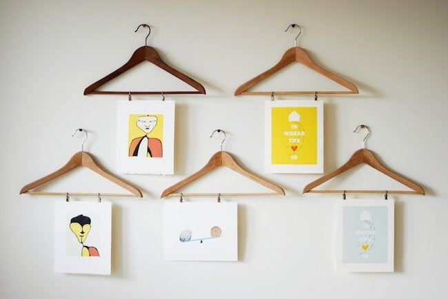 DIY Hanger Project - Artwork Display
