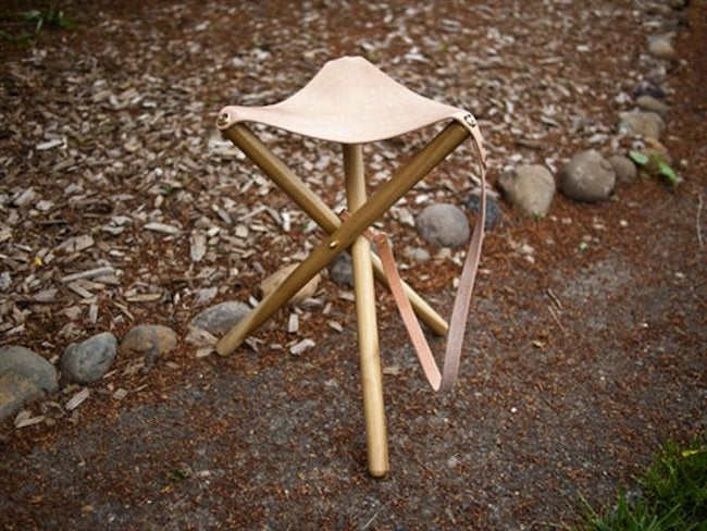 DIY Stool - Camp Chair