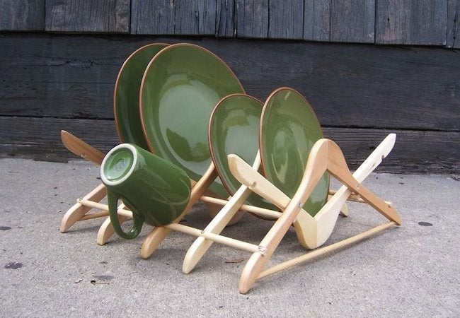 DIY Hanger Project - Dish Rack