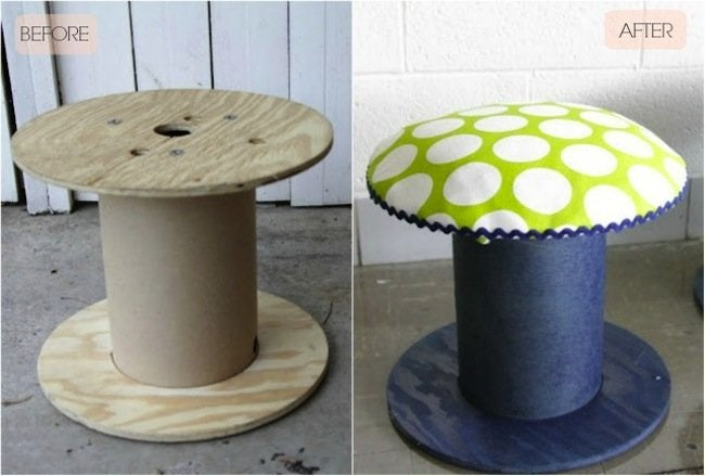 DIY Stool - Spool