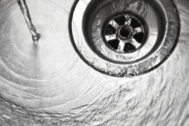 Gray Water Recycling - Sink Drain