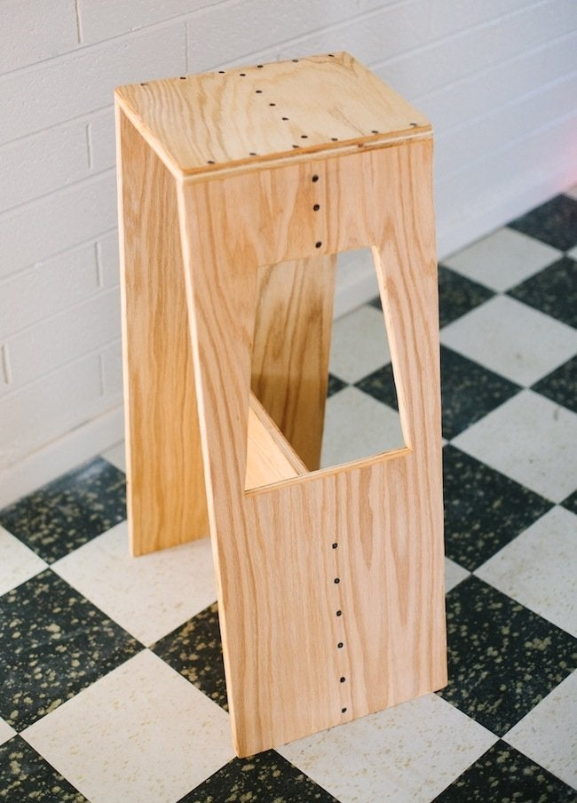 DIY Stool - Plywood
