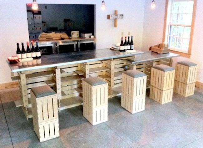 Build a Bar - Repurposed Crates