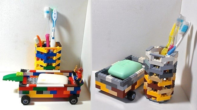 Repurpose Legos - Toiletries