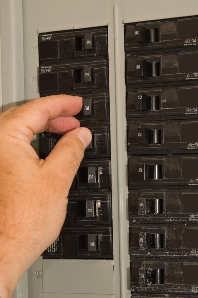 Check the Circuit Breaker During Furnace Troubleshooting