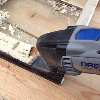 Dremel Multi Max Tool Review - Removing Paint