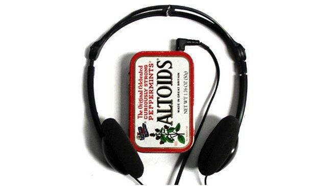 Altoids Tin Projects - Mp3 Player Case