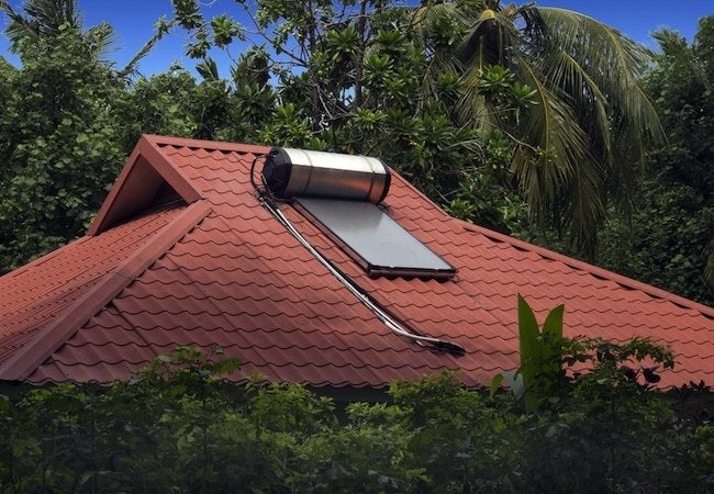 Types of Water Heaters - Solar