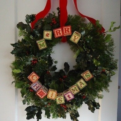 Building Block DIY Wreath