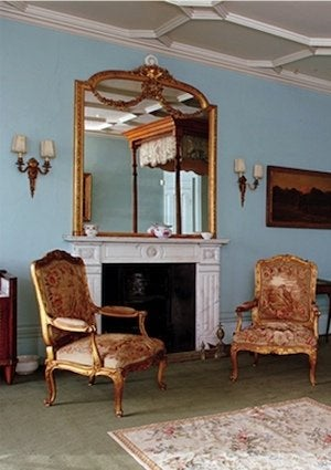 Downton Abbey Paint Colors - Bedroom