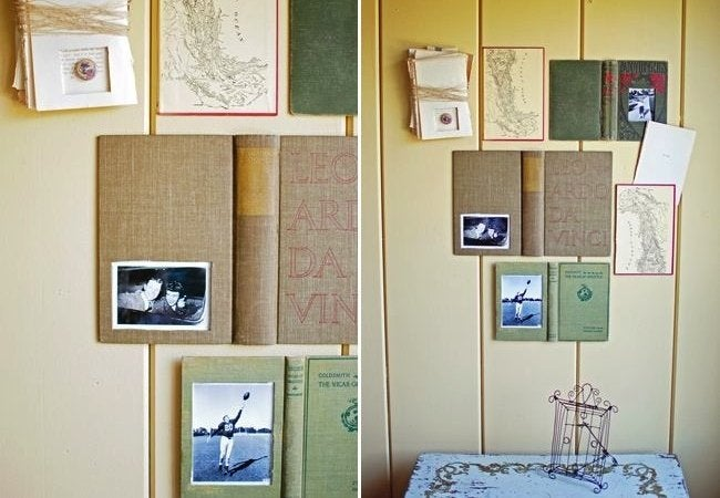 DIY Picture Frame - Books