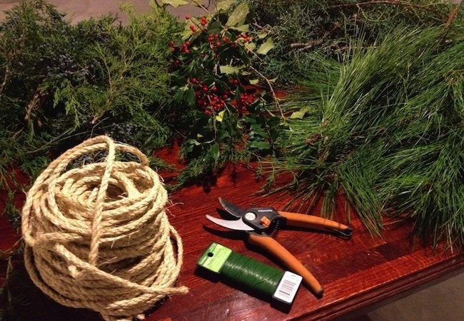 How to Make Garland - Collect Greens