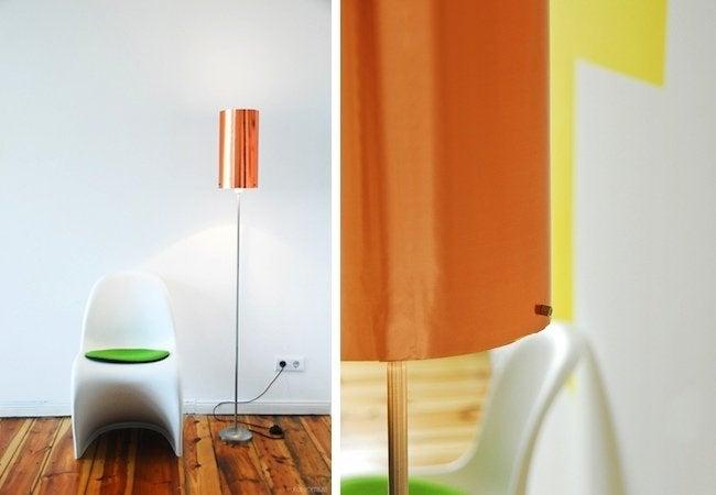 DIY Floor Lamp - Copper Top