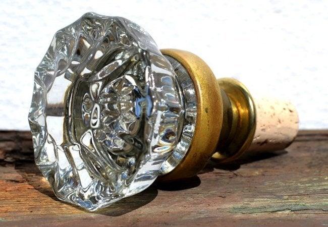 Doorknob DIY Projects - Bottle Cork
