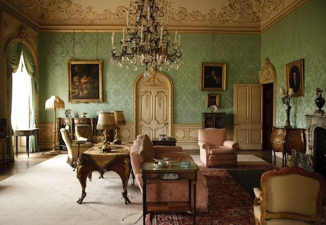 Downton Abbey Paint Colors - Drawing Room