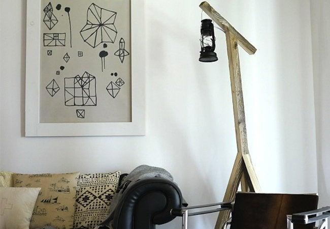 DIY Floor Lamp - Lantern