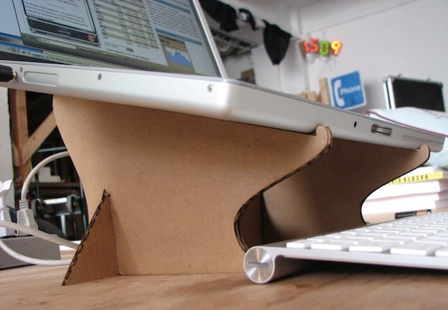 DIY Cardboard Projects - Laptop Stand