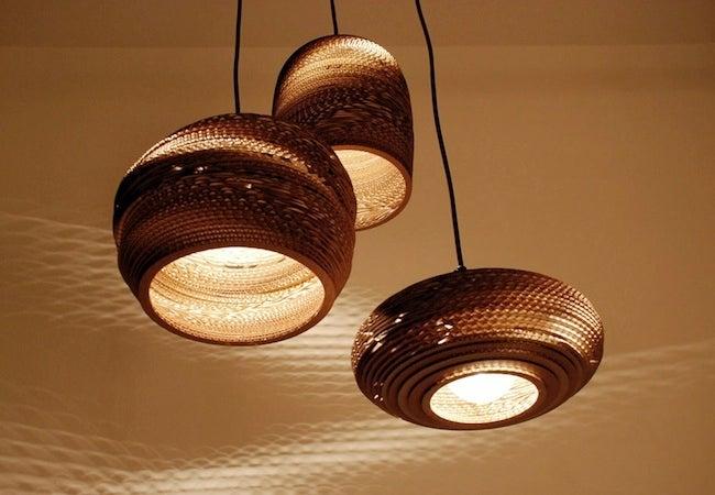 DIY Cardboard Projects - Lighting