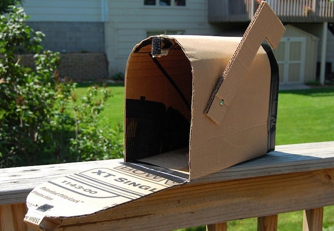DIY Cardboard Projects - Mailbox