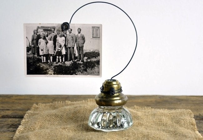 Doorknob DIY Projects - Picture Holder