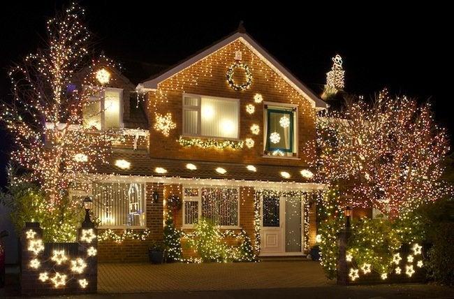 Recycling Christmas Tree Lights