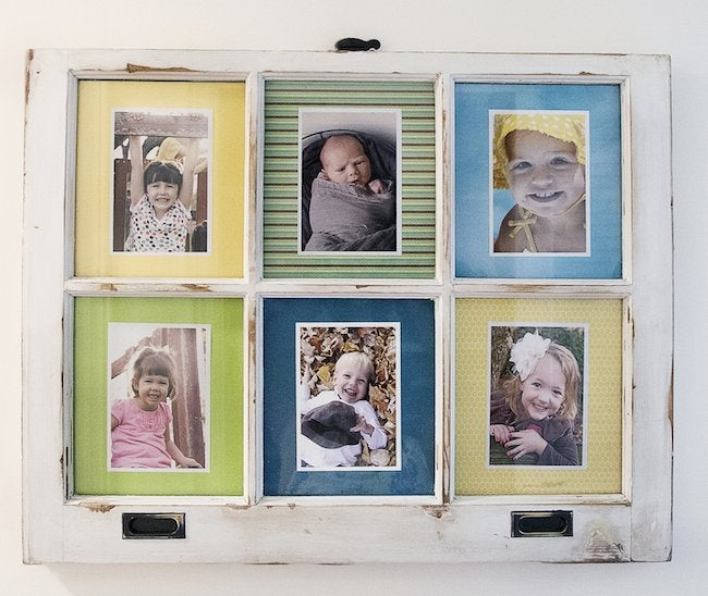 DIY Picture Frame - Window
